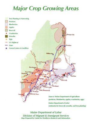 crop map